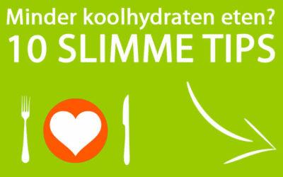 Minder Koolhydraten eten? Zo doe je dat!