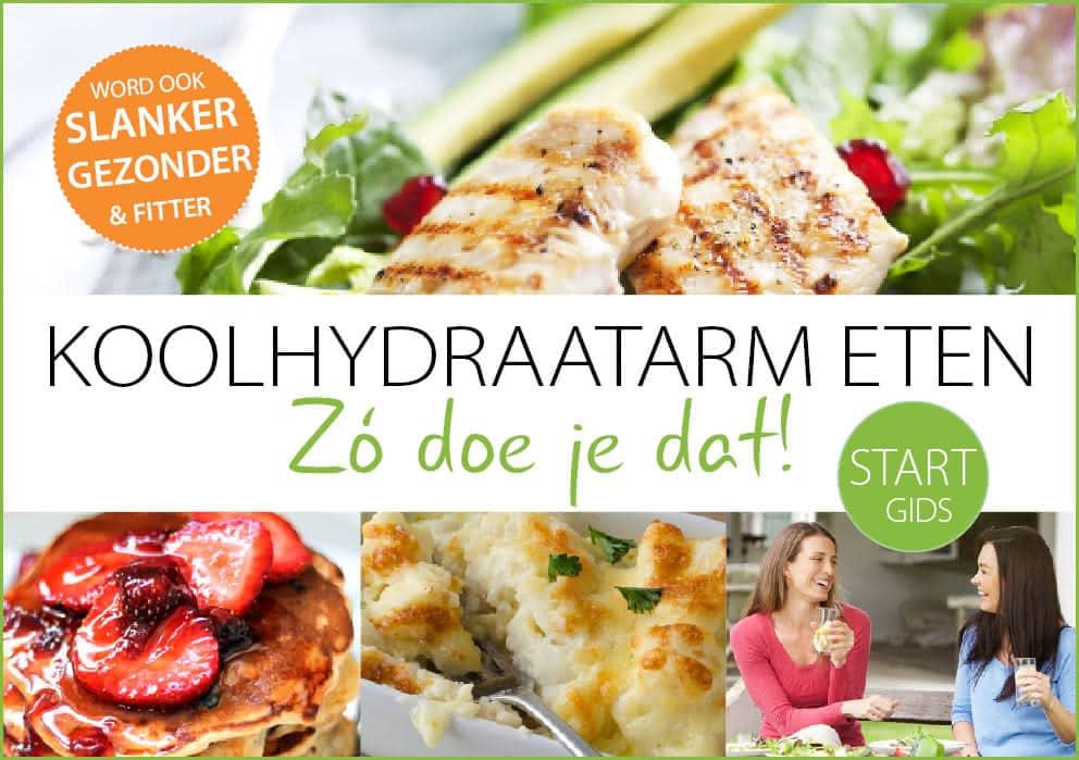 STARTGIDS koolhydraatarm eten