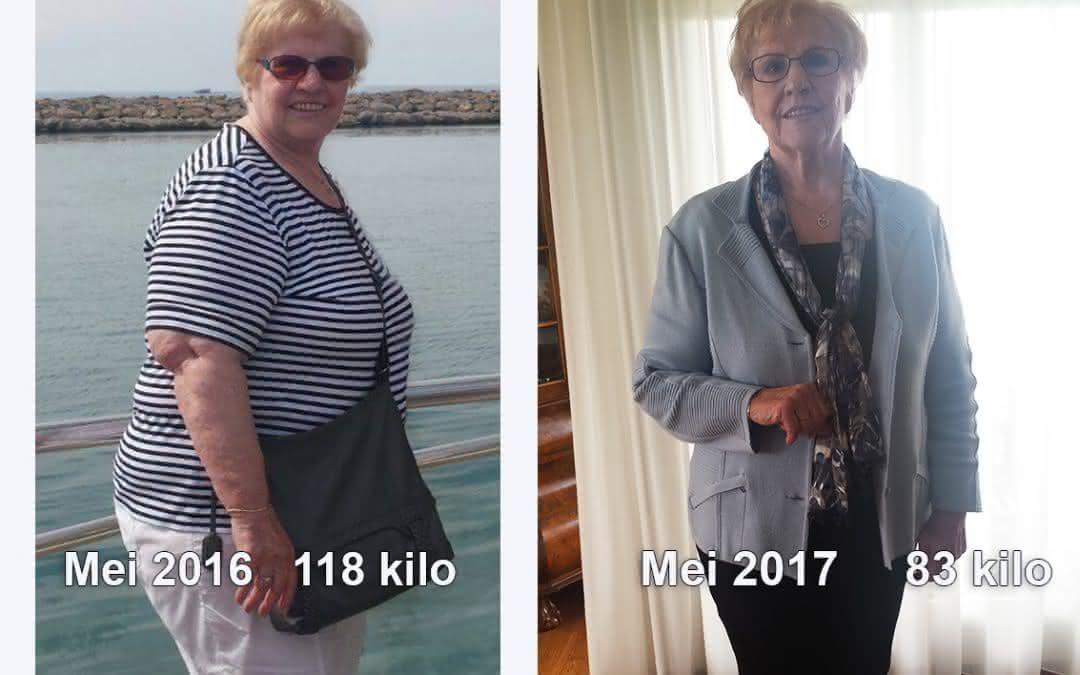 Na leven lang lijnen valt Martha (74) nu eindelijk écht af!