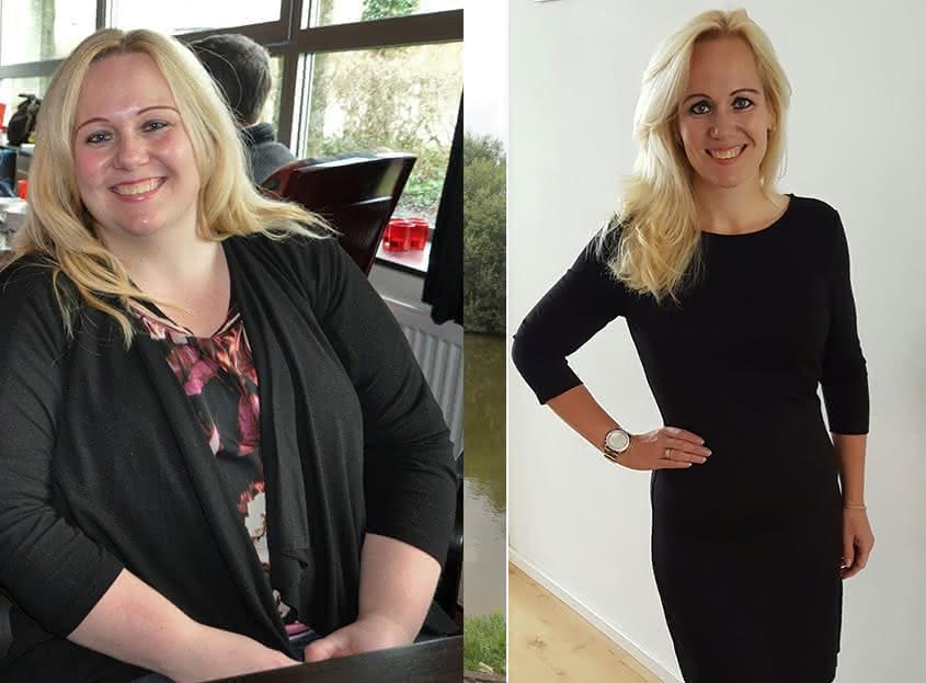Patricia (39) valt 60 kilo af met een LCHF aanpak