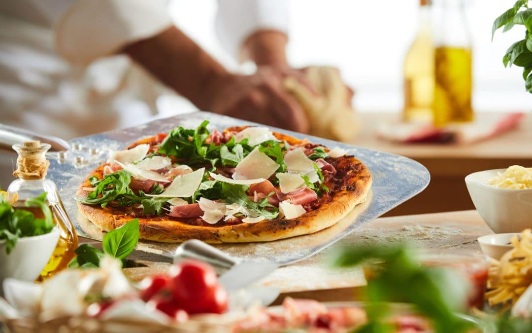 Koolhydraatarm/keto eten bij de pizzeria